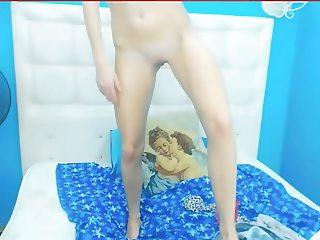 Blond teen nude