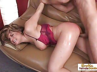 Hung old stud fucks a sexy ass milf very hard