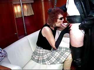 Wicked Witch Milf in thigh boots