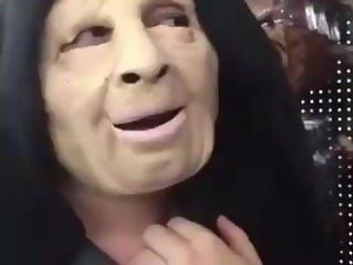 Sexy nun blowing morning wood