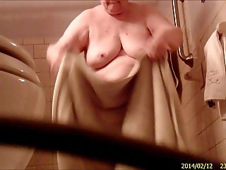 Grandma Takes A Shower 2