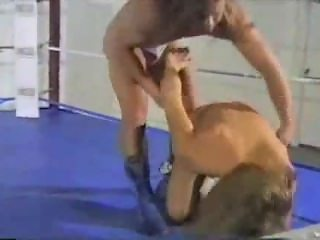 (CANADIAN NUDE PRO WRESTLING 3) - CHRIS DIVITO VS. JOSHUA