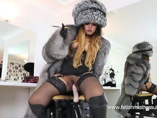 fur smoking milf
