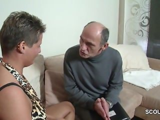 Horny German Grandpa Seduce Teen to Fuck with Him
