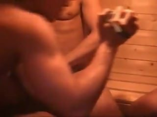 Orgy at bareback sauna club - 24 min
