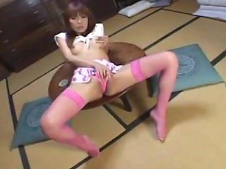 Japanese cutie masturbating uncensored