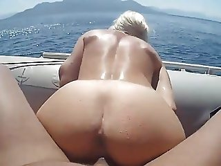 Boat fucking couple