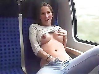 kik on a train