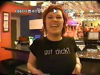 Big titty girls having fun backstage