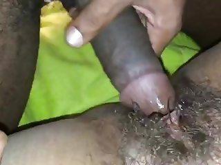 BBC fucks BBW wet HAIRY pussy