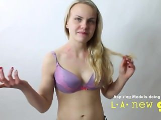 STRANGE GIRL FUCKED IN THE ASS DURING CASTING AUDITION