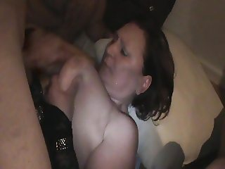 BIG BOOBS HOUSEWIFE GANGBANGED AT HOME - PART 4