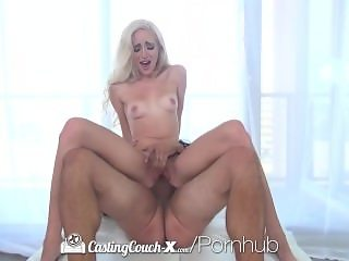 CastingCouch-X - Naomi Woods comes to her audition ready and all shaved