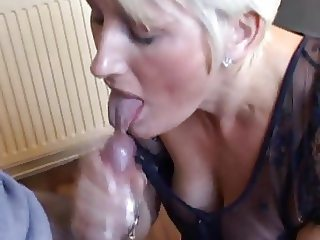 wife swallows for the first time