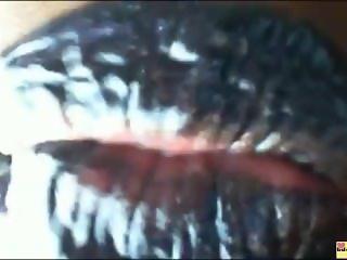 Mistress OnyxBlack Lipstick Fetish Bubblegum Chew...