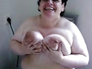 Braless Topless Funbags Granny