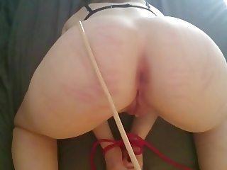 amateur ass caning