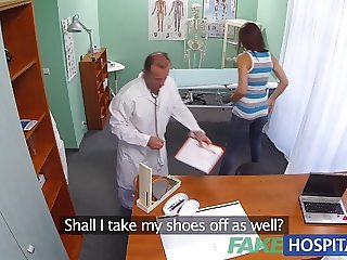 FakeHospital Horny student gets a good fucking from doctor