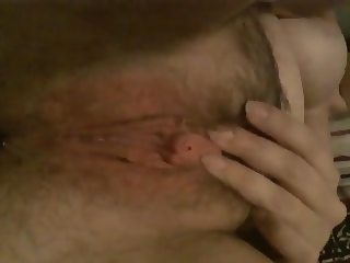 Wett hairy pussy
