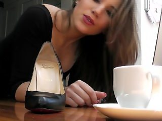 Shrunk at her soles