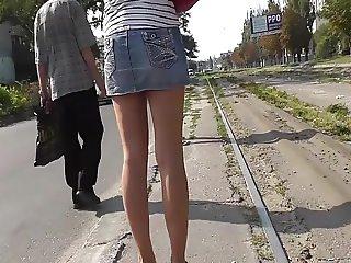 Sous Les Jupes En Jeans