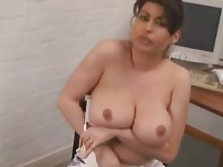 Busty Spanish Isabela In The Office