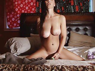 Christina rubber penis sex 02