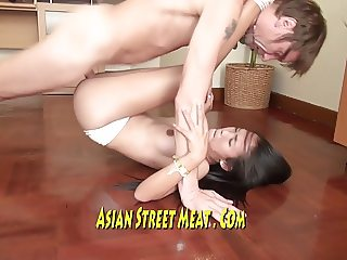 Gorgeous Asian Beauty Queen Fucks For Supper