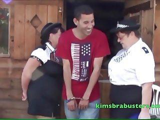 Young mans deep throat arrest