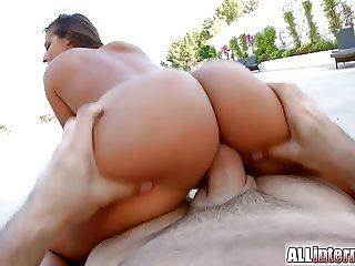 Allinternal Amirah Adara gets messy anal creampie