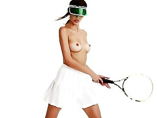 The sexy top model tennis player Lisa Shabani