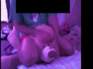 Humping my teddy bear