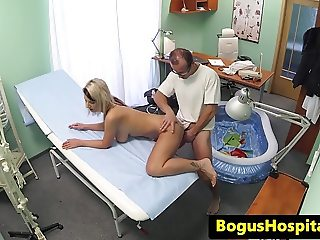 Hospital patient fucked in a paddling pool
