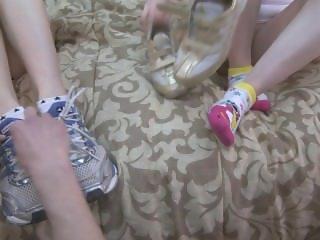 Joggers sweaty socks