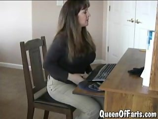 Two Girls Fart Contest