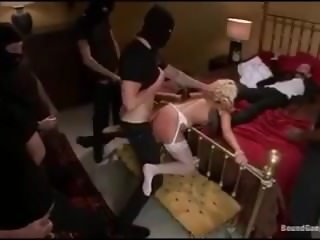 PBZ Vault: Katie Summer's Wedding Night Surprise Anal Gangbang
