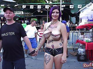 Naked Street Flashers Fantasy Fest 15 (Daytime)
