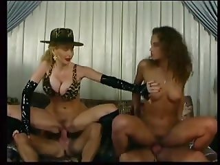 SH Retro Two Horny Ladies Riding Cocks