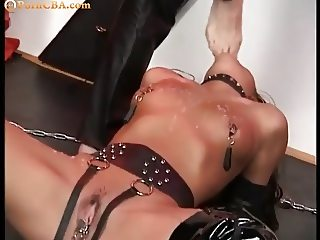 Young slave home sex