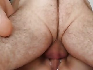 HAIRY ASSED not dadDY FILLS THIS CUNT WITH HIS LOVE CREAM!