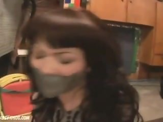Stephanie tape gagged