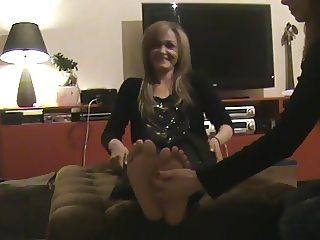 Greek mature with big ticklish soles(Part 1)