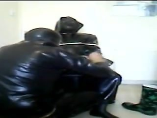 Rubber session with Rochdale Tony in the chair.