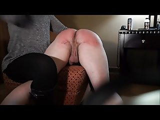 FM OTK Hairbrush Spanking - Part 1