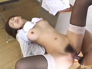 ( hntimes.com ) Mai Hanano lady sexy lady Japan teacher uncensored part 1