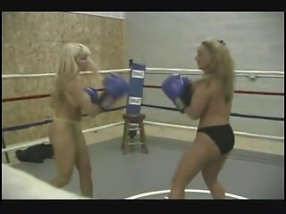 RG-017 2 vs 1 topless boxing