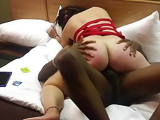 Another video of Wife riding a BBC