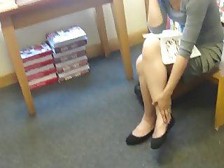Asian Secretary on Phone