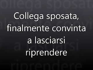 Collega sposata - primo video