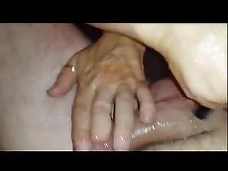 Mature mom stroking my cock